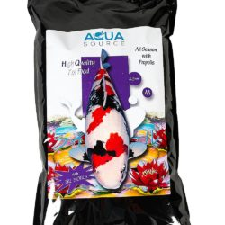 aquasource all season with bee propolis koi food